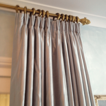 Bumph silk curtains